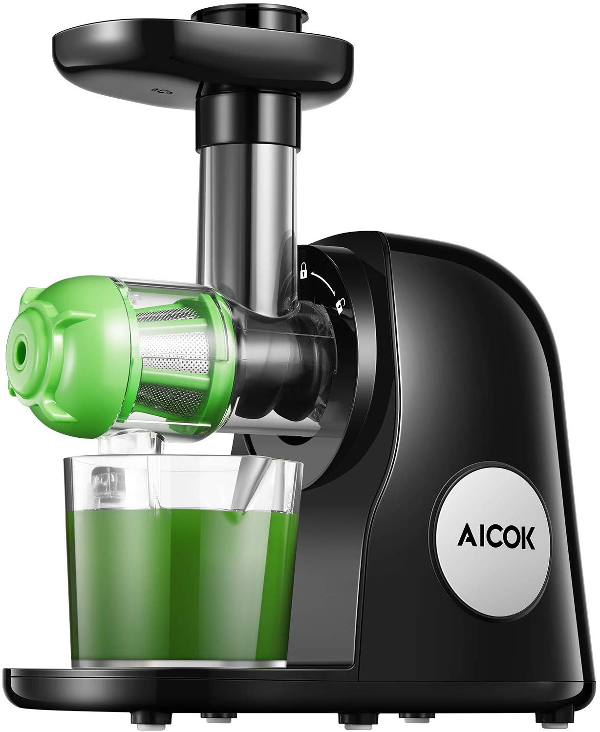 Aicok Slow Masticating Juicer Extractor Easy to Clean